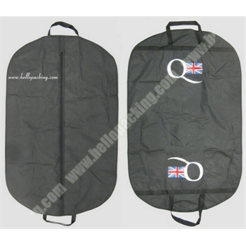 Black PEVA Suit Cover with Zipper(51040) - Products - HelloPacking