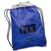 Promotional Polyester Drawstring BackPack Bag(41054)