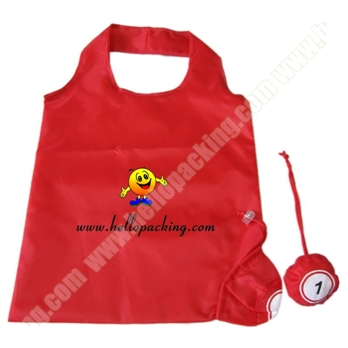 Foldable Polyester Bag Fold to Bingo Ball Shape(40056) - Products - HelloPacking