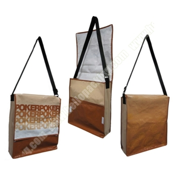 Laminated PP Woven Shoulder Messenger Bag(21040) - Products - HelloPacking