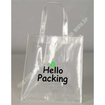 Transparent Clear PP Woven Shopping Bag(21029) - Products - HelloPacking