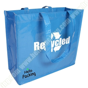 Reusable Promotional Lamination PP Woven Bag(21008) - Products - HelloPacking
