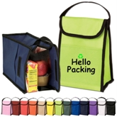 Reuse Handled NonWoven Insulated Picnic Cooler Bag(19001)