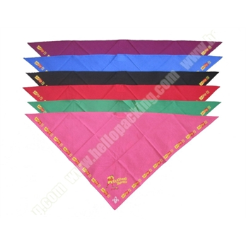Triangle Cotton Scarfs for boy scouts(34018) - Products - HelloPacking