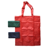 Foldaway Polyester Tote Bag to Purse with snap(40171)